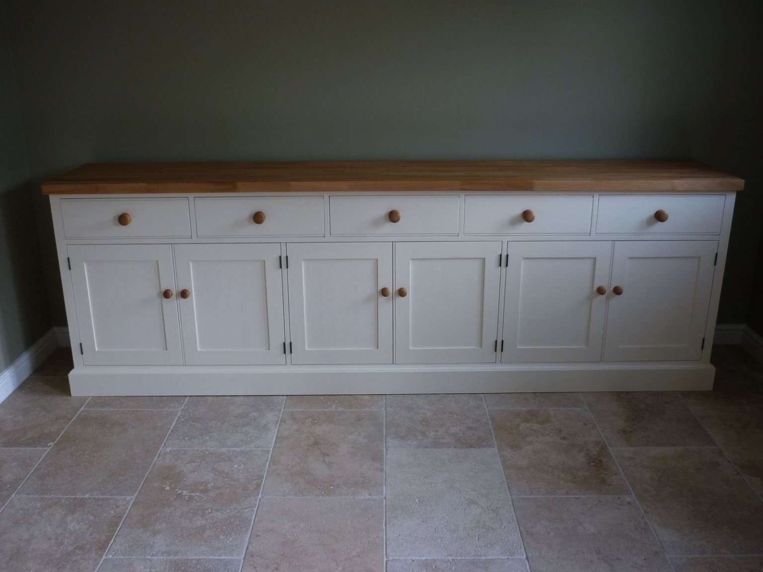 Bespoke Painted Cotswold Sideboard – Solid Wood & Painted Made To Inside Bespoke Sideboards (View 5 of 20)