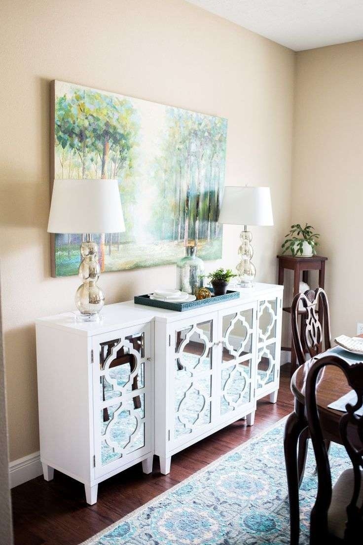Best 25+ Dining Room Buffet Ideas On Pinterest | White Buffet Throughout Mirror Over Sideboards (View 5 of 20)