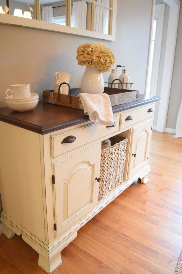 Best 25+ Refinished Buffet Ideas On Pinterest | Dining Room Buffet Throughout Cream Kitchen Sideboards (View 5 of 20)