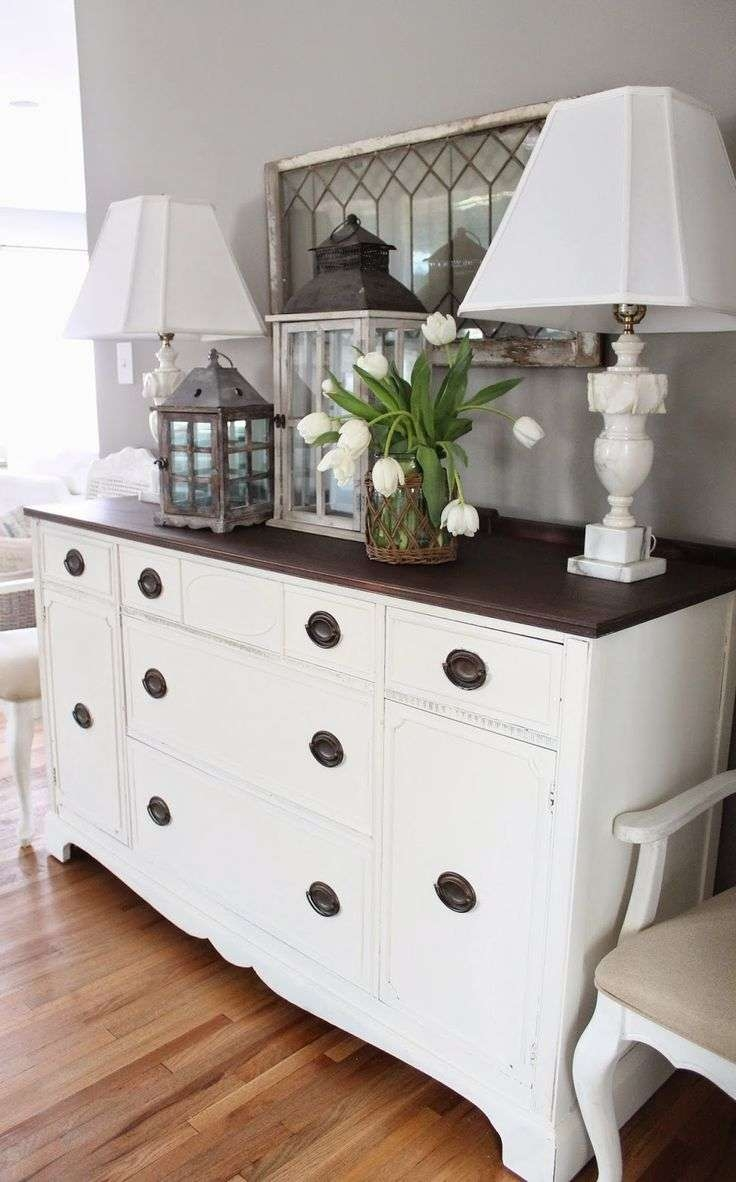 Best 25+ White Buffet Cabinet Ideas On Pinterest | White Buffet In White Sideboards Tables (View 4 of 20)