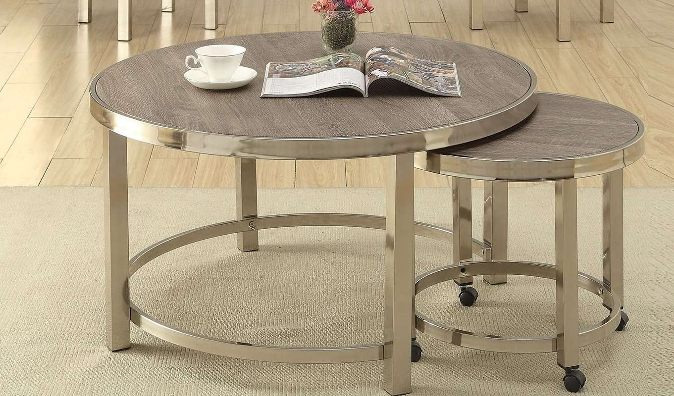 Best And Newest 2 Piece Coffee Table Sets Regarding A&j Homes Studio Elwyn 2 Piece Coffee Table Set & Reviews (View 4 of 20)