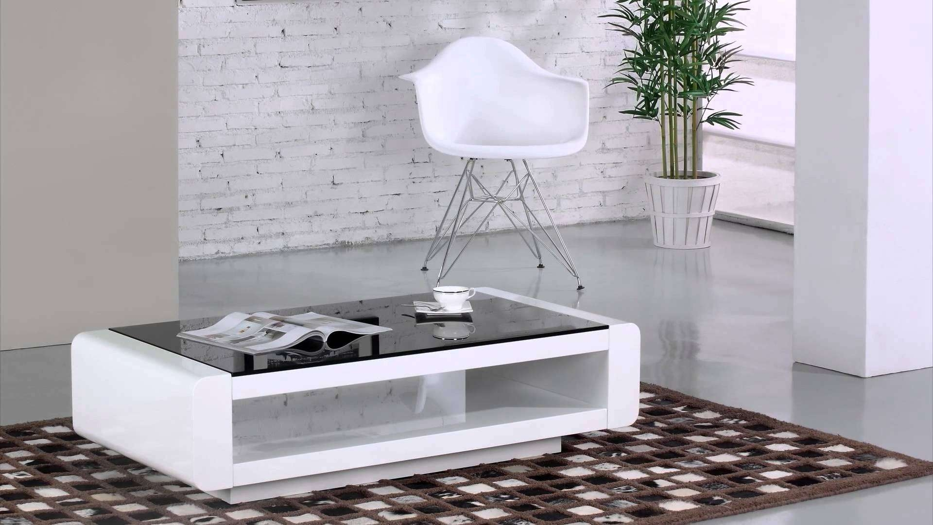 Best And Newest Bordeaux Coffee Tables For Bordeaux Coffee Table In White Gloss – Youtube (View 3 of 20)