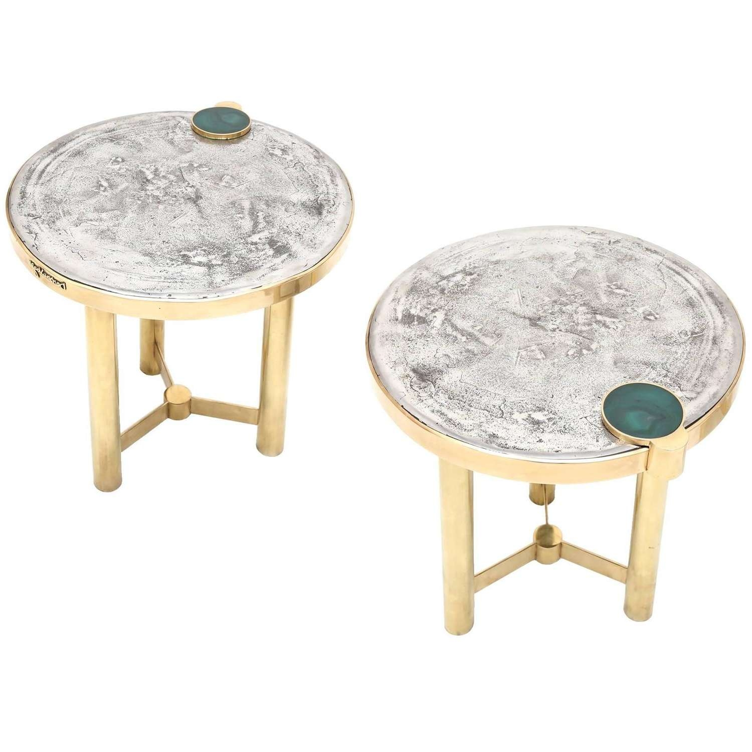 Best And Newest Coffee Tables And Side Table Sets For Moonraker Side Table Setdessauvages At 1stdibs (View 20 of 20)