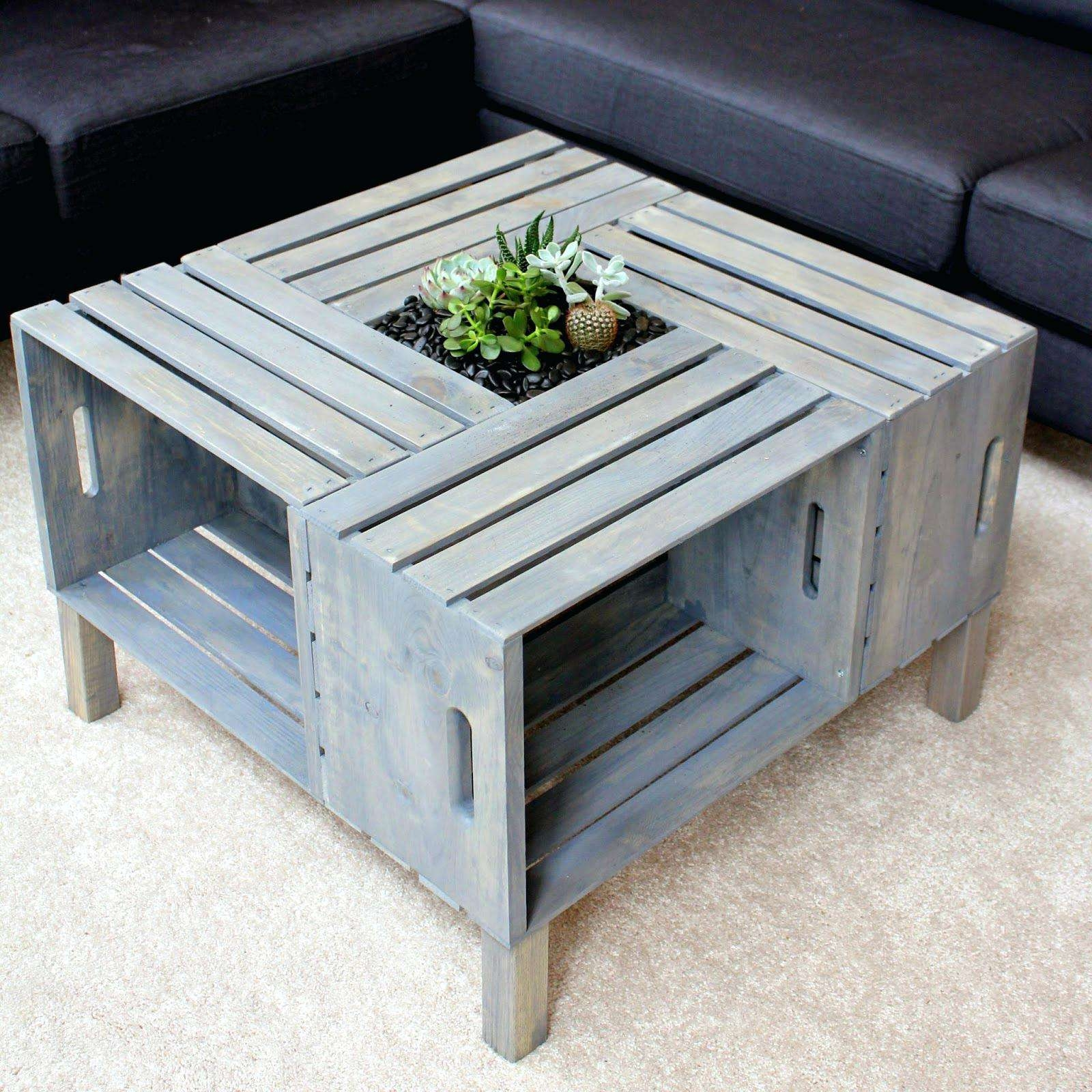 Best And Newest Grey Wood Coffee Tables Regarding Gray Wood Table – Atelier Theater (View 3 of 20)
