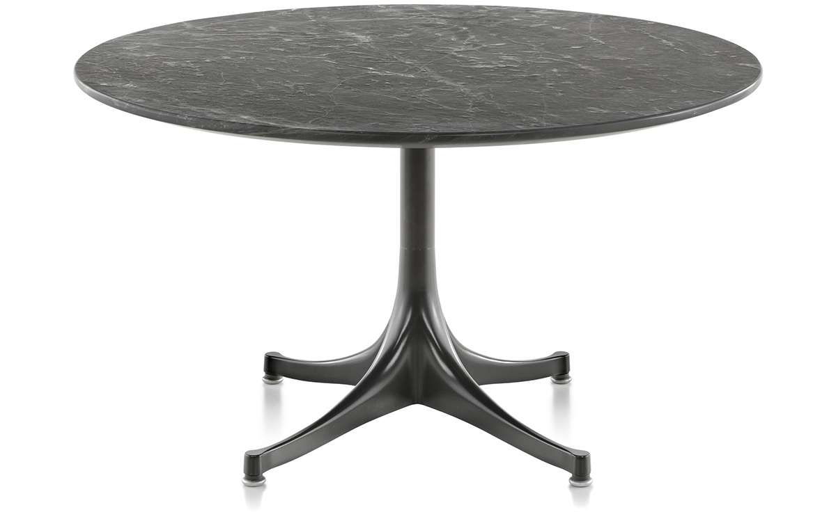 """Best And Newest Nelson Coffee Tables Within Nelson Pedestal Table Outdoor 28.5"""" Dia (View 11 of 20)"""