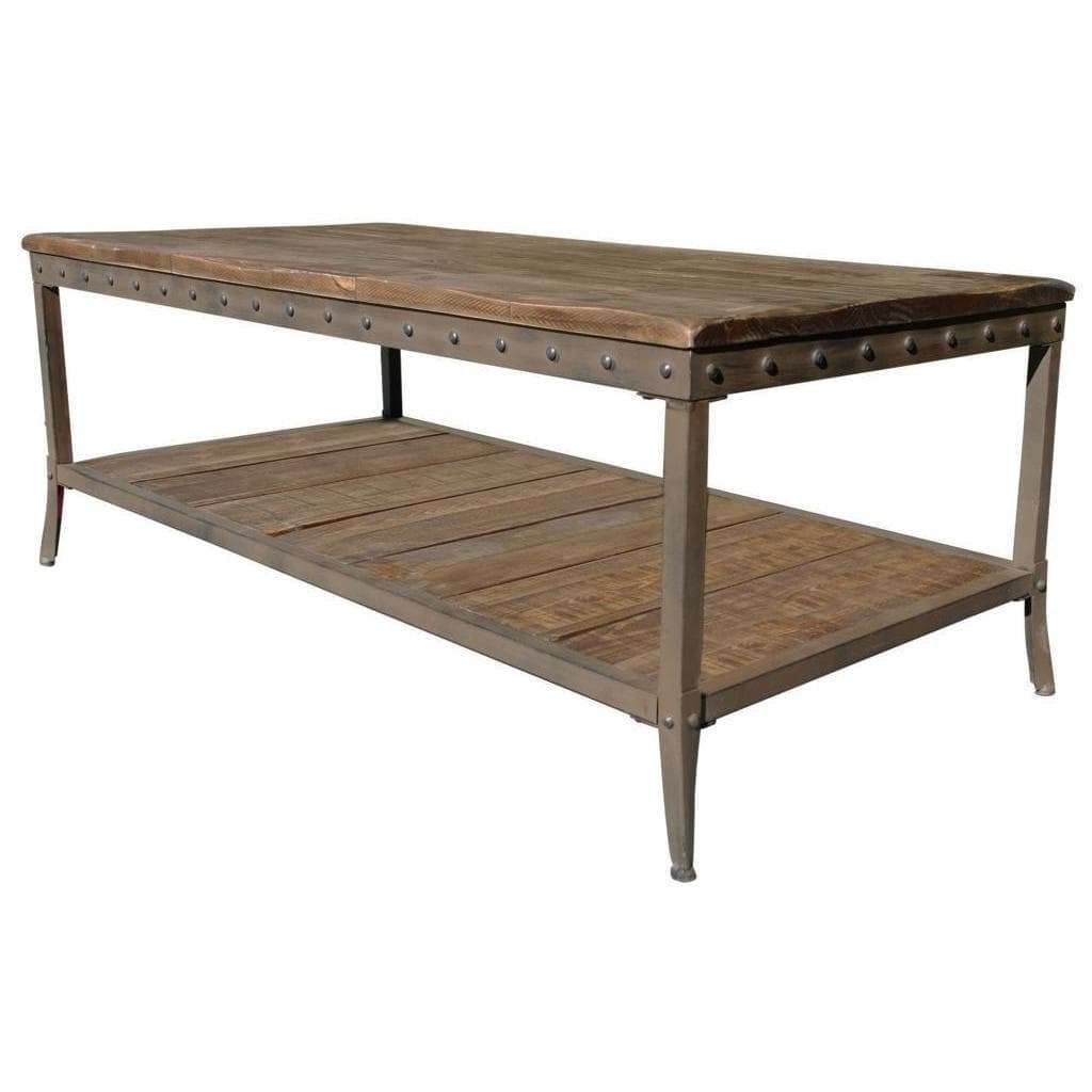 Best And Newest Pine Coffee Tables With Regard To Trenton Distressed Pine Coffee Table – Free Shipping Today (View 11 of 20)