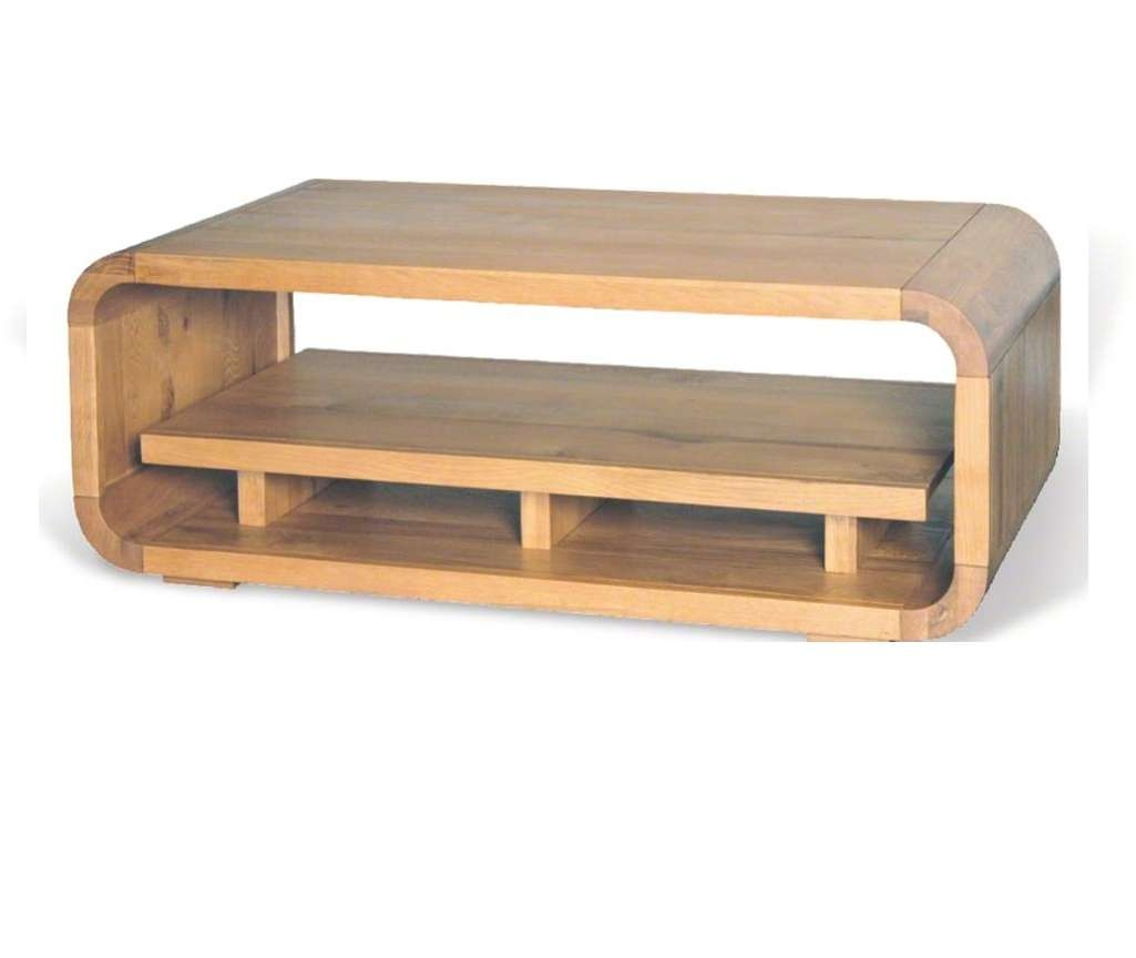 Best And Newest Retro Oak Coffee Tables Intended For Retro Oak Coffee Table With Shelf (View 3 of 20)