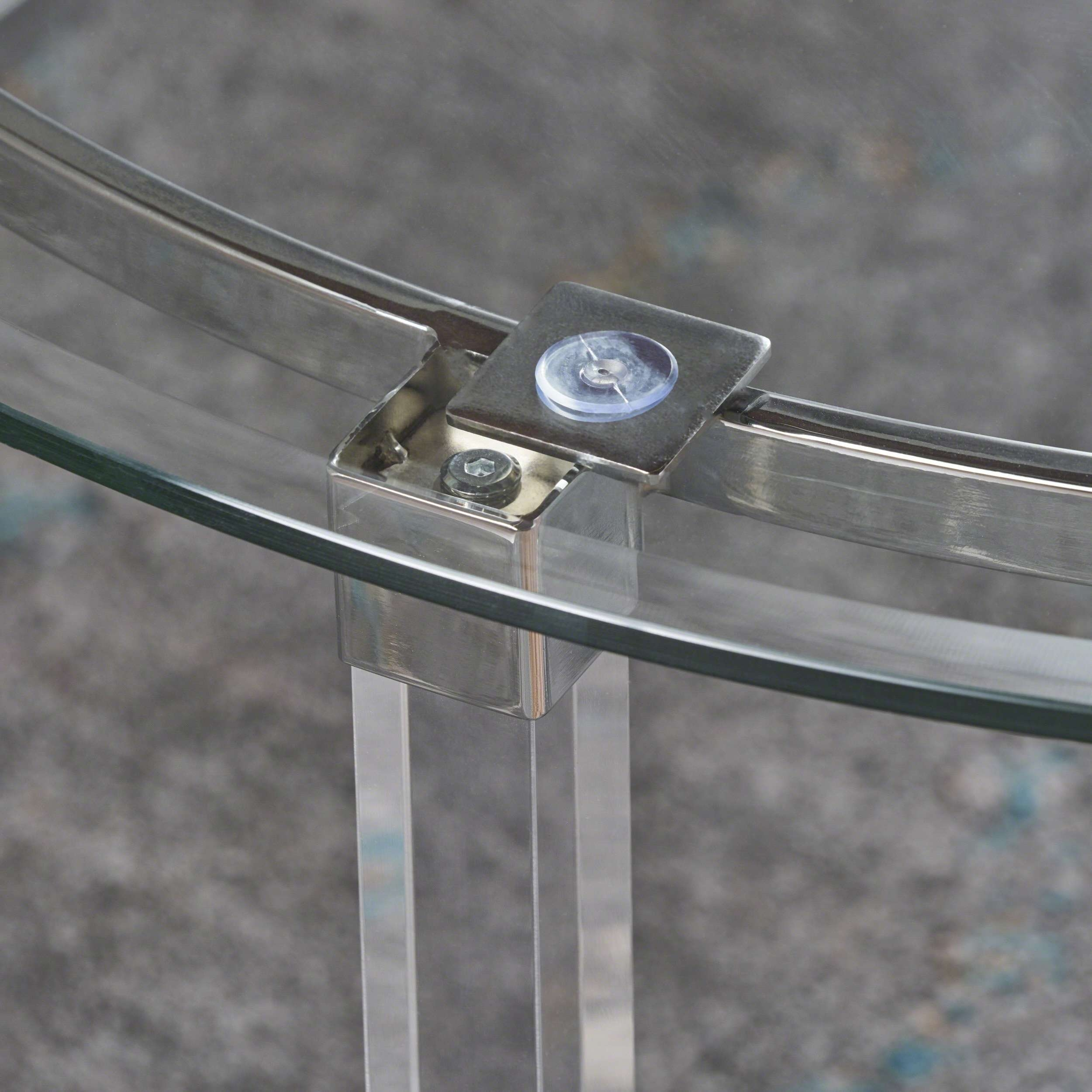 Best And Newest Revolving Glass Coffee Tables With Elowen Round Rectangle Glass Coffee Tablechristopher Knight (View 20 of 20)