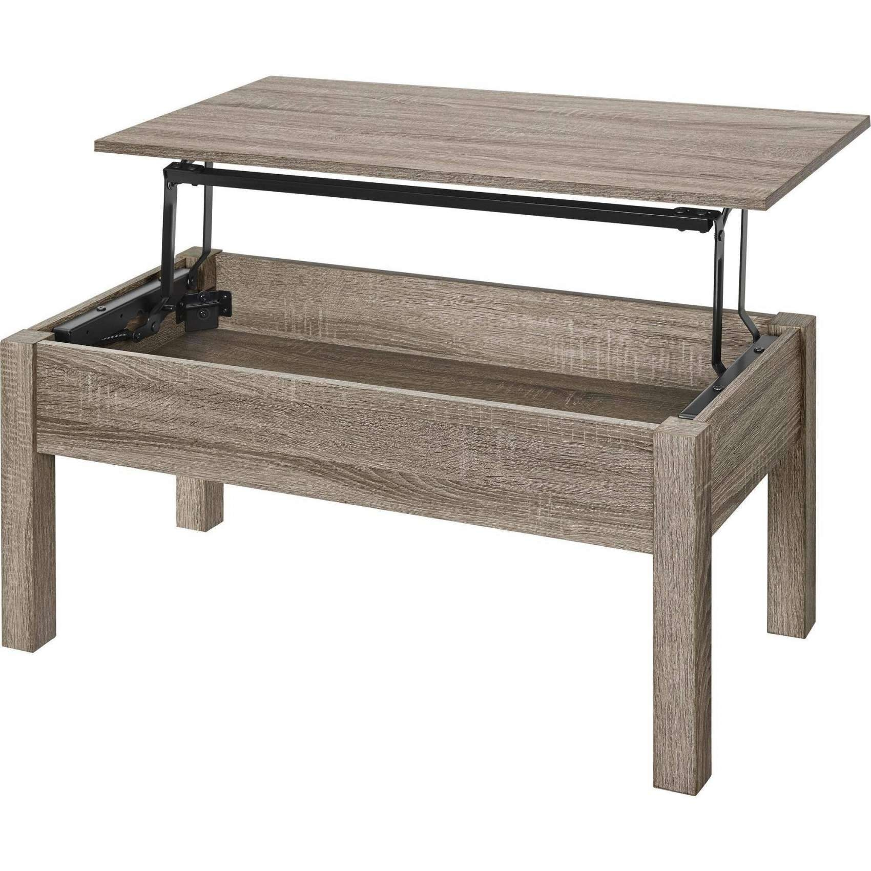 Best And Newest Rising Coffee Tables With Coffee Tables : White Coffee Table Lift Top Round Glass Square (View 2 of 20)