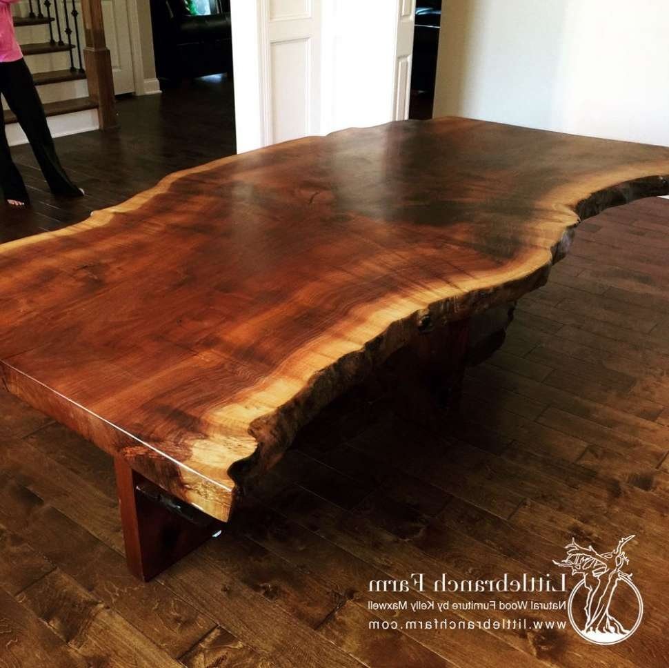 Best And Newest Tree Trunk Coffee Table Inside Coffee Tables : Wood Stump Coffee Table Tree Trunk Toronto Side (View 1 of 20)