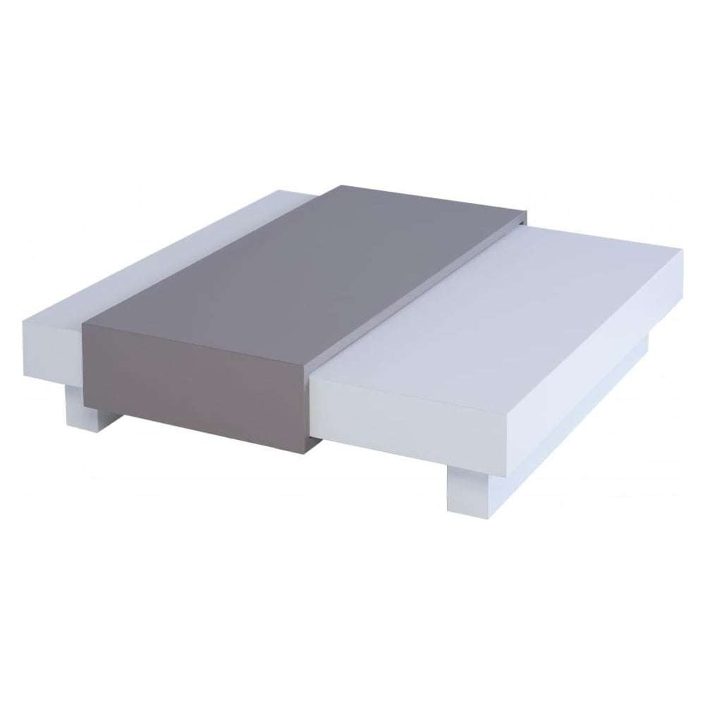 Best And Newest White Square Coffee Table Pertaining To Buy Gillmore Space White Square Coffee Table From Fusion Living (View 4 of 20)