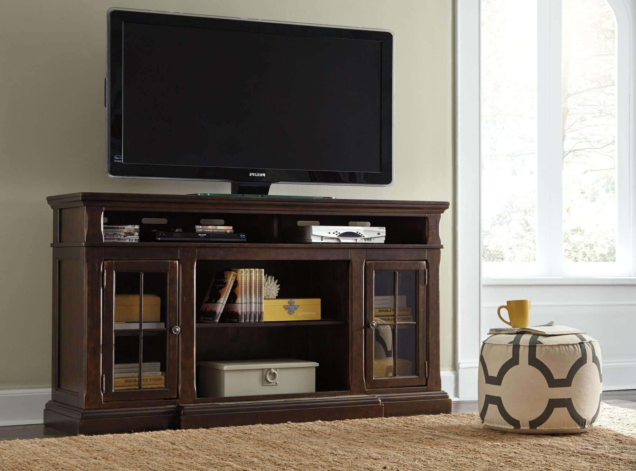 Best Furniture Mentor Oh: Furniture Store – Ashley Furniture Regarding Large Tv Cabinets (View 9 of 20)