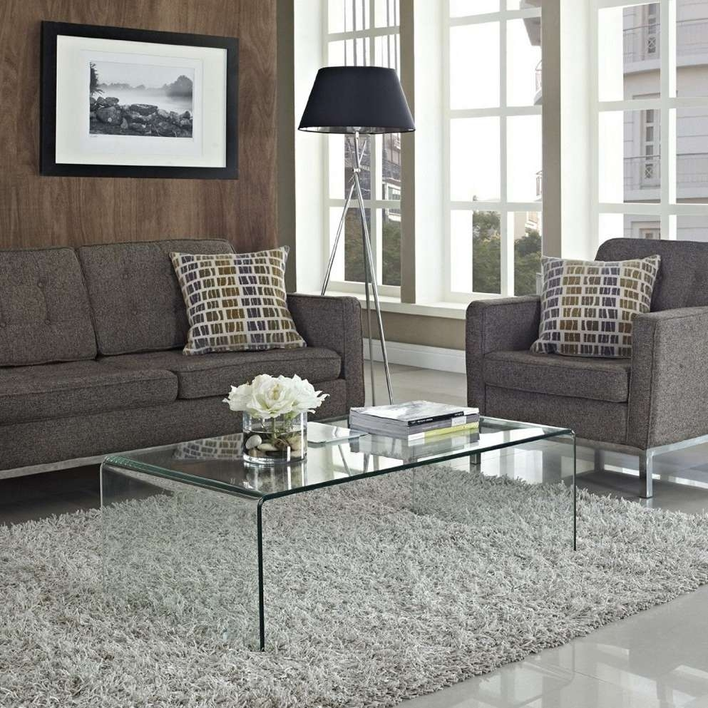 Best Glass Coffee Table Sets Regarding Recent Transparent Glass Coffee Tables (View 5 of 20)