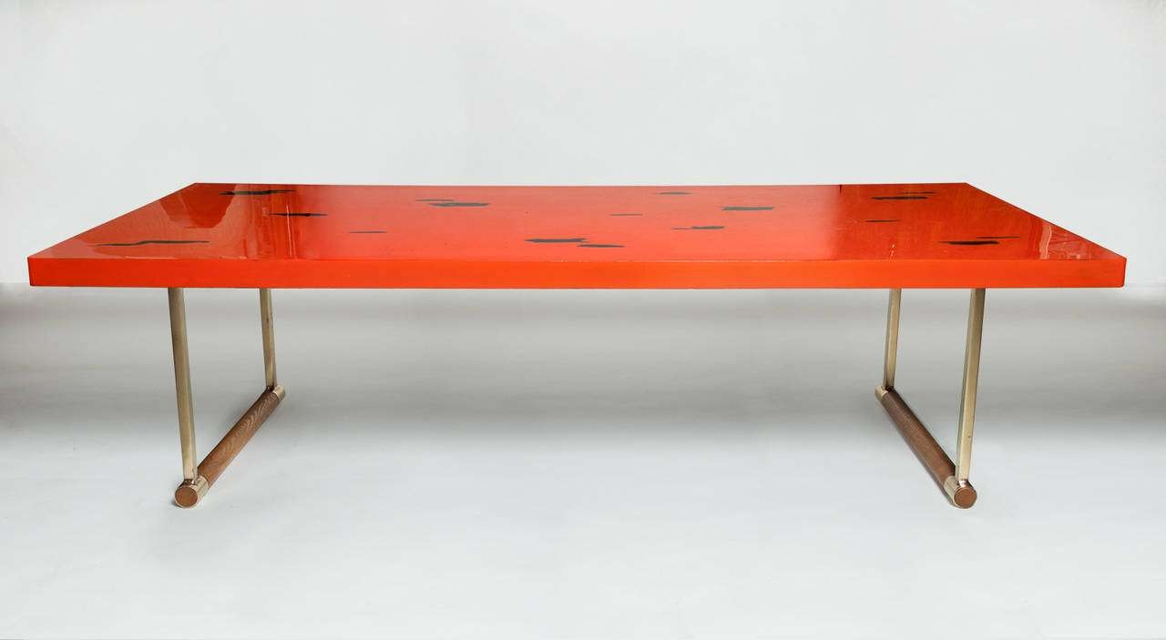 Best Lacquered Coffee Table Rectangle – White Lacquered, Coffee With Regard To Latest Lacquer Coffee Tables (View 10 of 20)