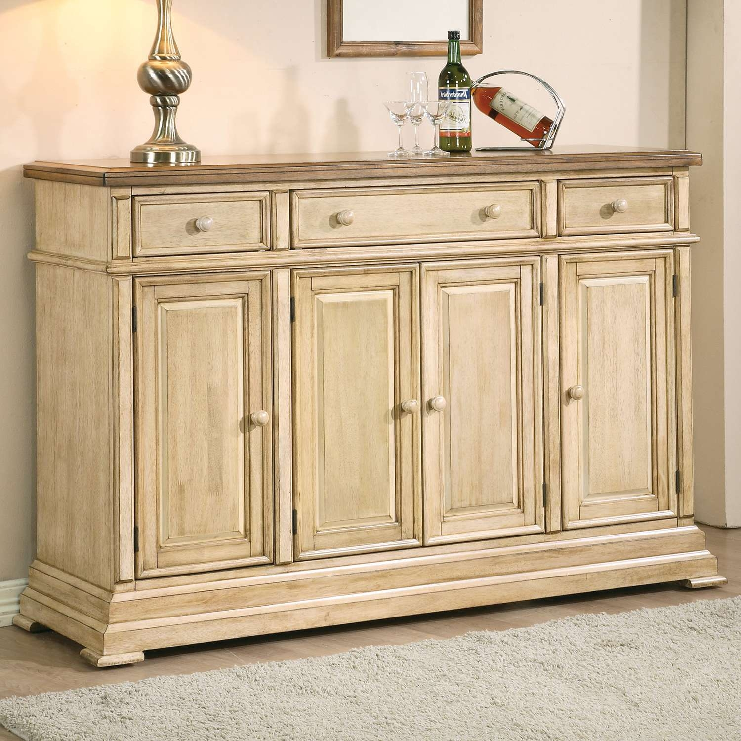 Best Of White Buffet Sideboard – Bjdgjy Intended For Wooden Sideboards And Buffets (View 15 of 20)