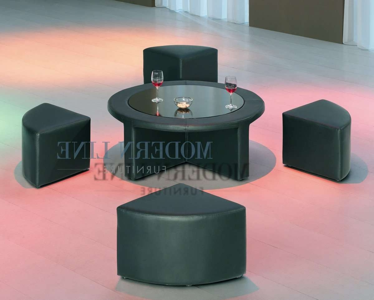 Best Round Coffee Tables With Stools (View 4 of 20)