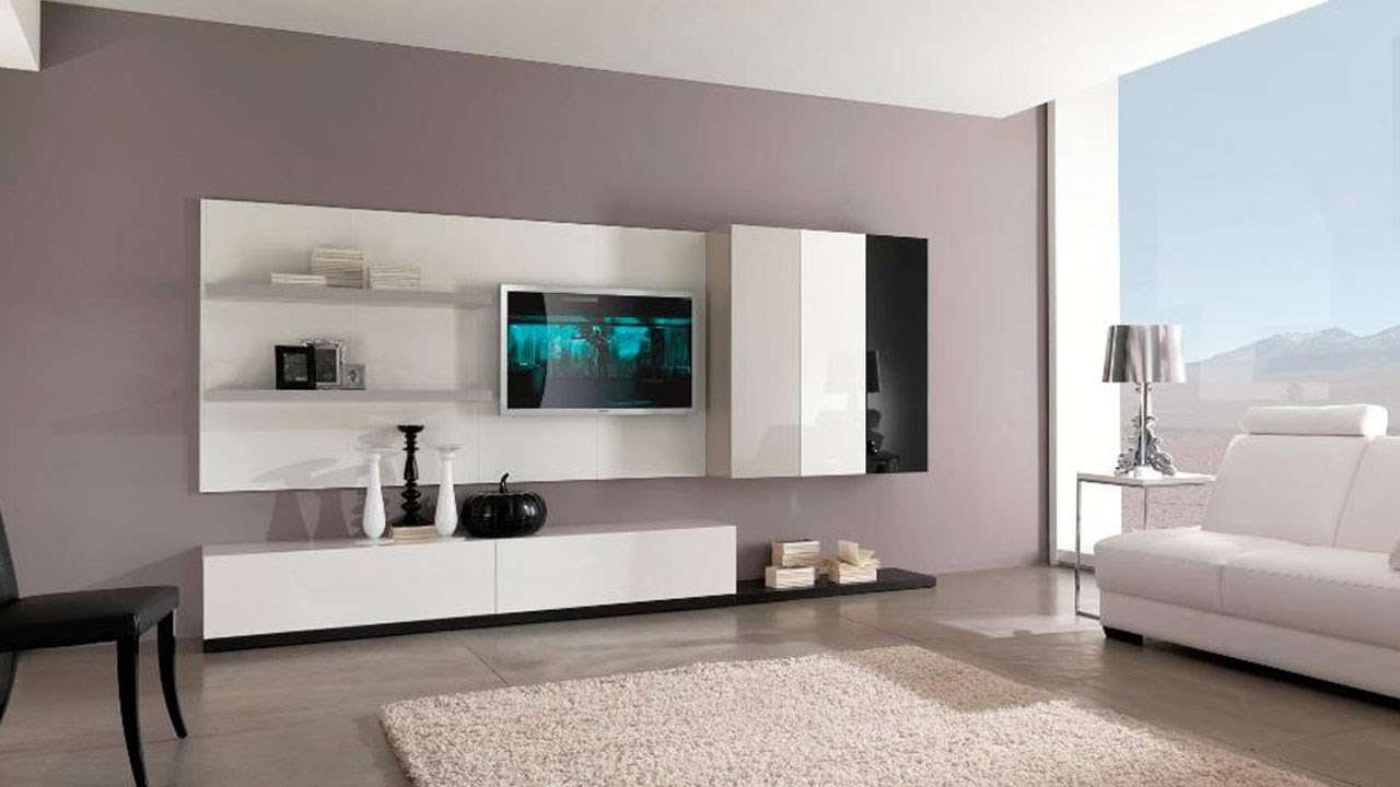 Best Top 30 Modern Tv Cabinet Wall Units Furniture Designs Ideas Regarding Tv Cabinets And Wall Units (View 2 of 20)