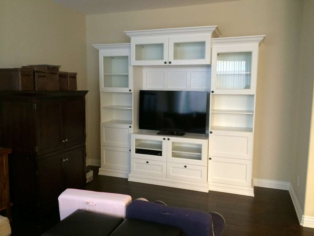 Besta Ikea Hack Built Ins With Style – Wall Units Design Ideas Throughout Ikea Built In Tv Cabinets (View 3 of 20)