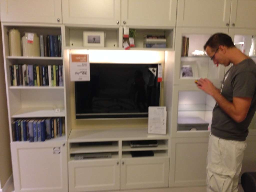 Besta Ikea Hack – Custom Look Built Ins With Style Throughout Ikea Built In Tv Cabinets (View 2 of 20)