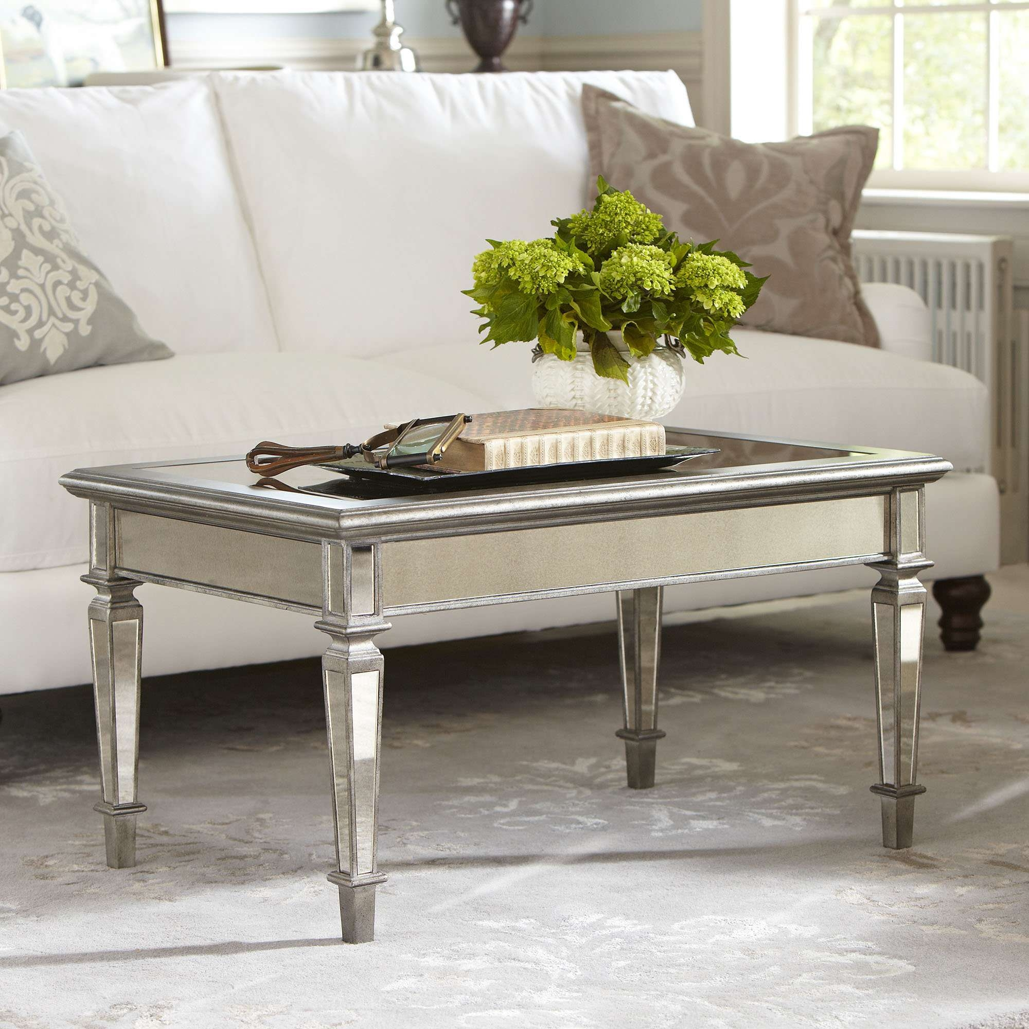 Birch Lane In Most Recently Released Mirrored Coffee Tables (View 2 of 20)