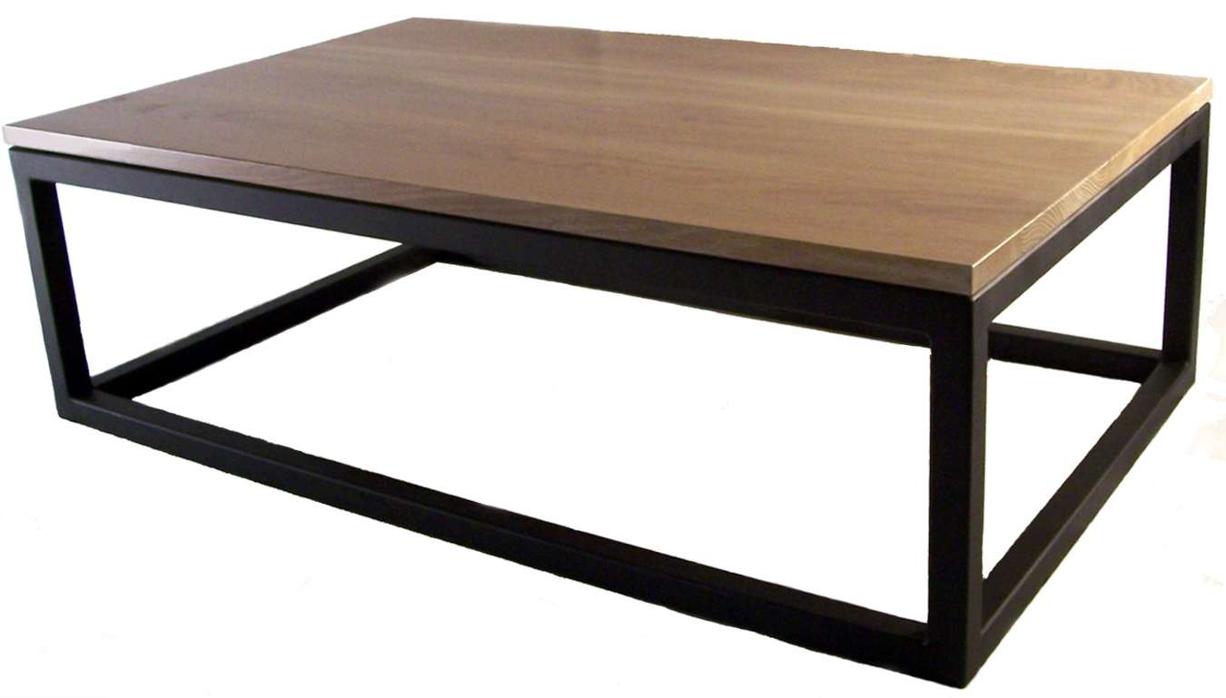 Black And White Coffee Tables – Home Design Ideas And Pictures For Widely Used White And Oak Coffee Tables (View 2 of 20)