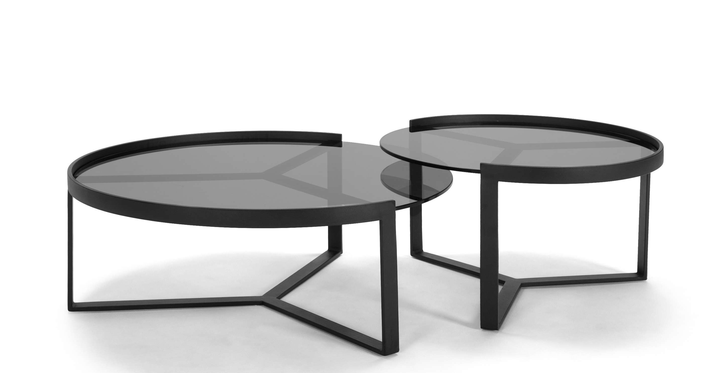 Black Glass Coffee Table Nest – Nafis Home Design Ideas For Well Known Nest Coffee Tables (View 5 of 20)