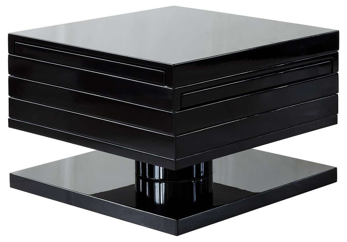 Black Gloss Antwerp Motion Coffee Table – Be Fabulous! With Regard To Most Up To Date Gloss Coffee Tables (View 8 of 20)