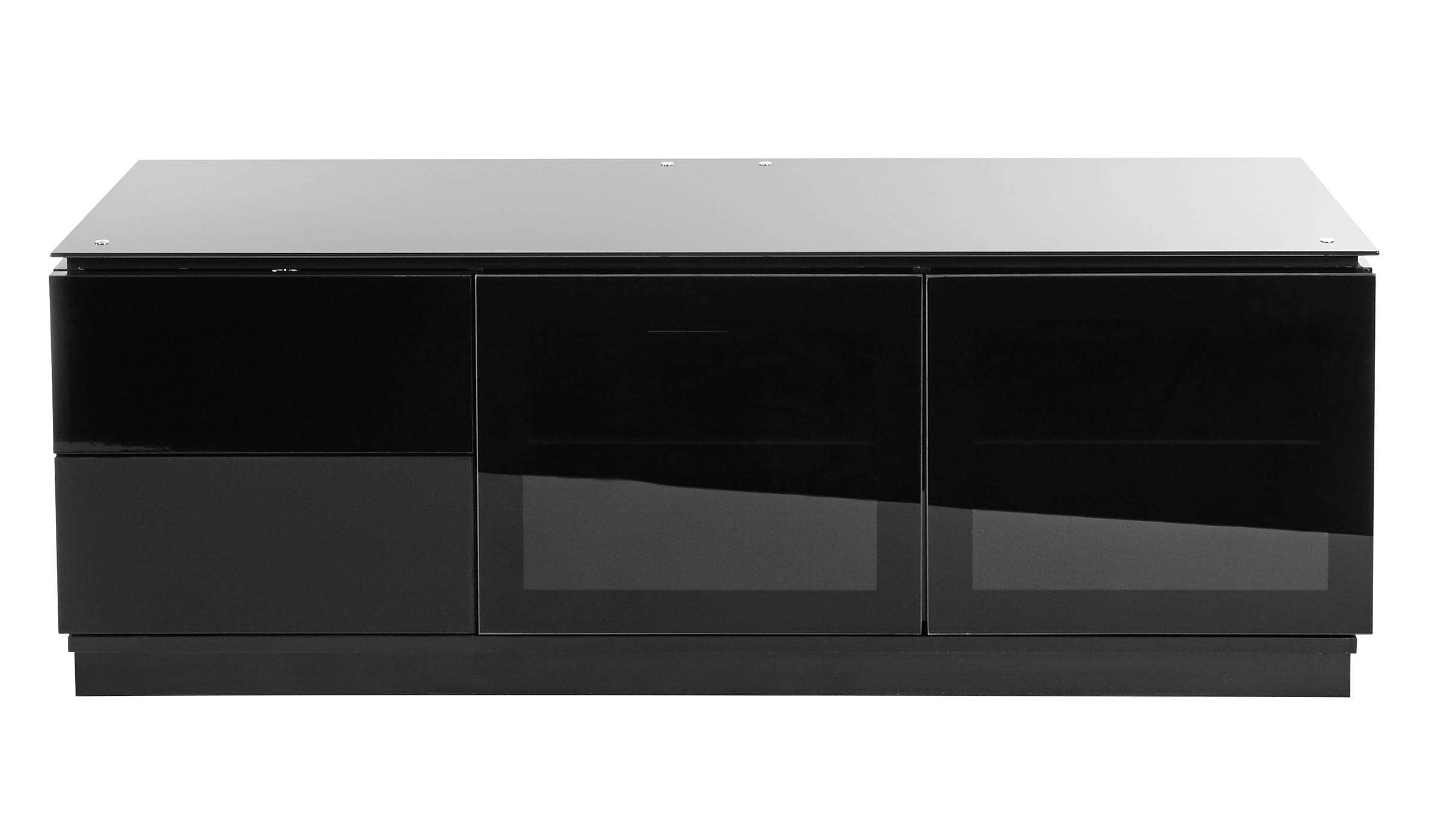 "Black Gloss Tv Cabinet Up To 65"" Tv 