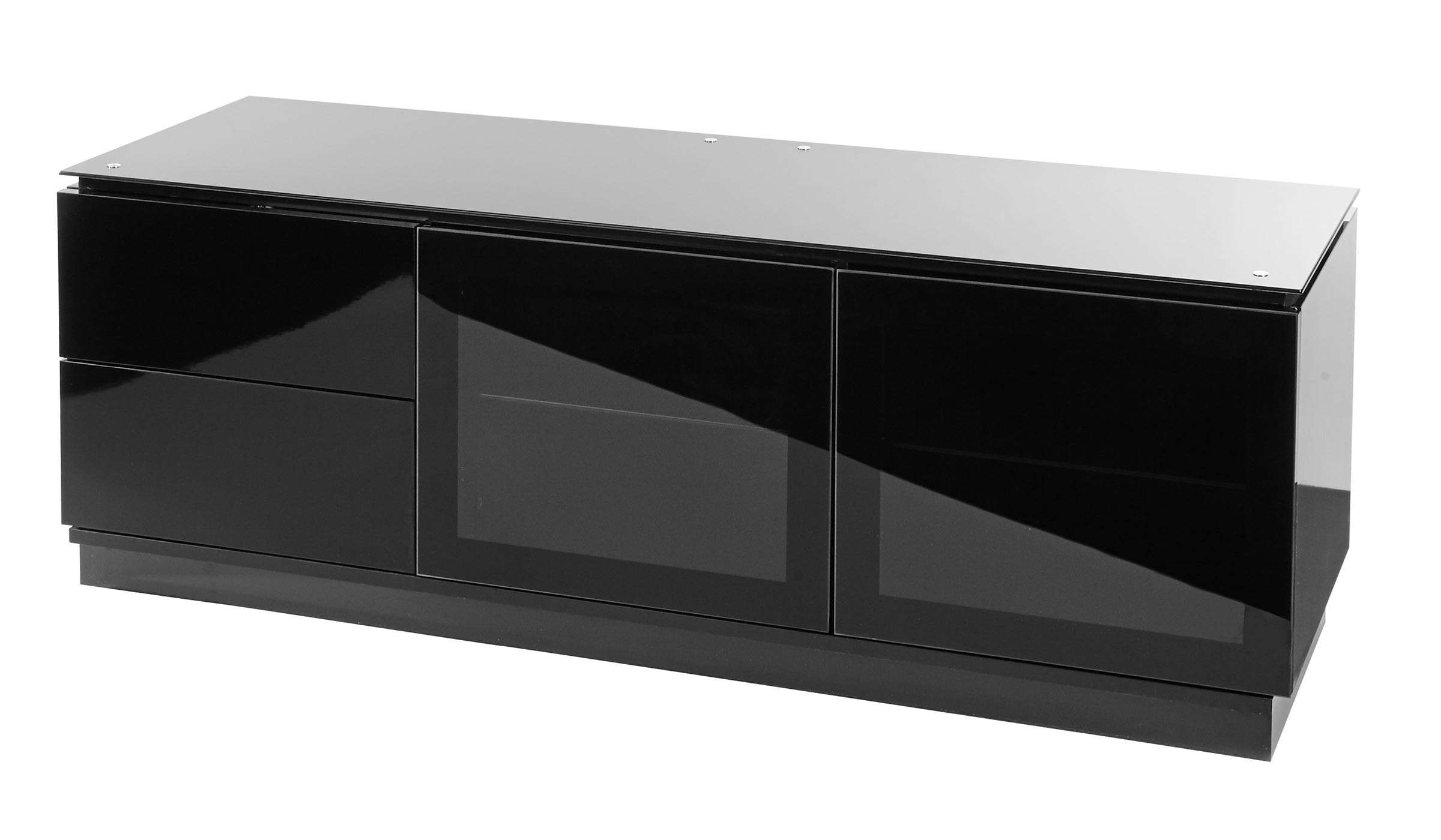 """Black Gloss Tv Cabinet Up To 65"""" Tv 
