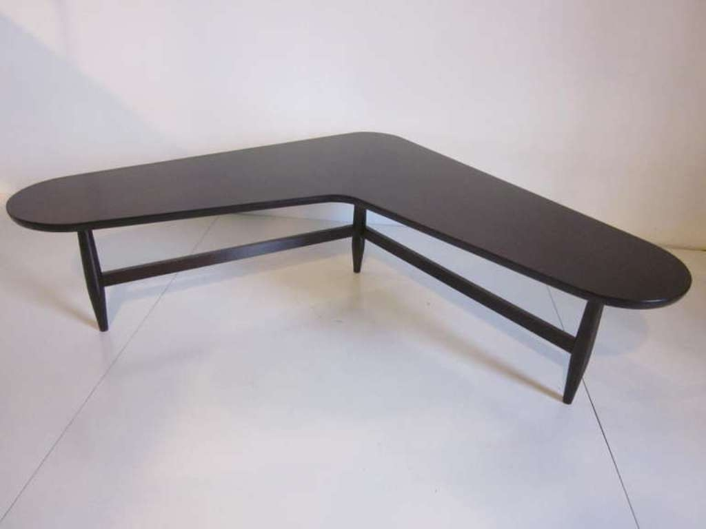 Black L Shaped Coffee Table All About House Design : Remarkable L Regarding Most Current L Shaped Coffee Tables (View 12 of 20)