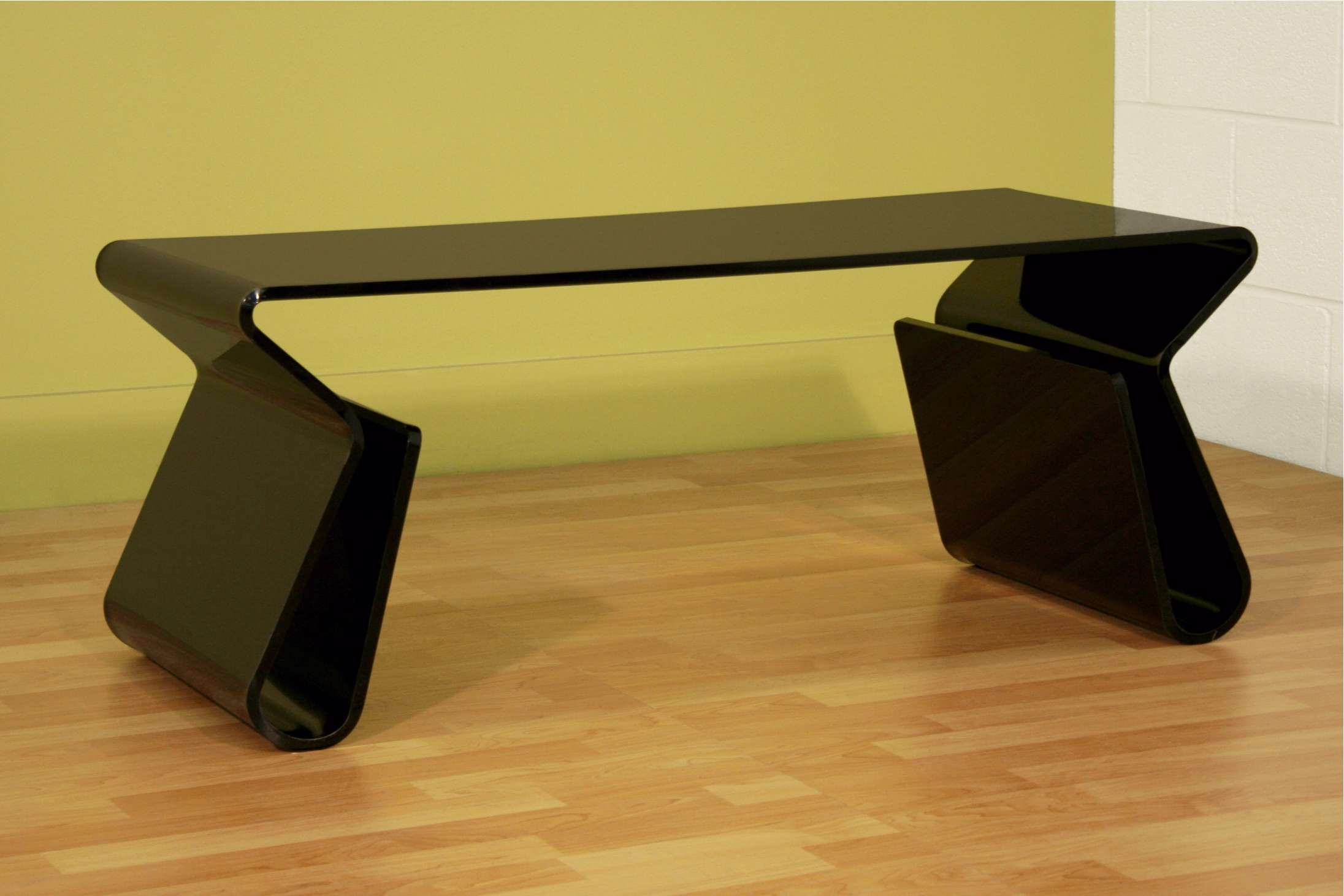 Black Modern Acrylic Coffee Table With Magazine Storage In Coffee Intended For Best And Newest Coffee Tables With Magazine Storage (View 20 of 20)