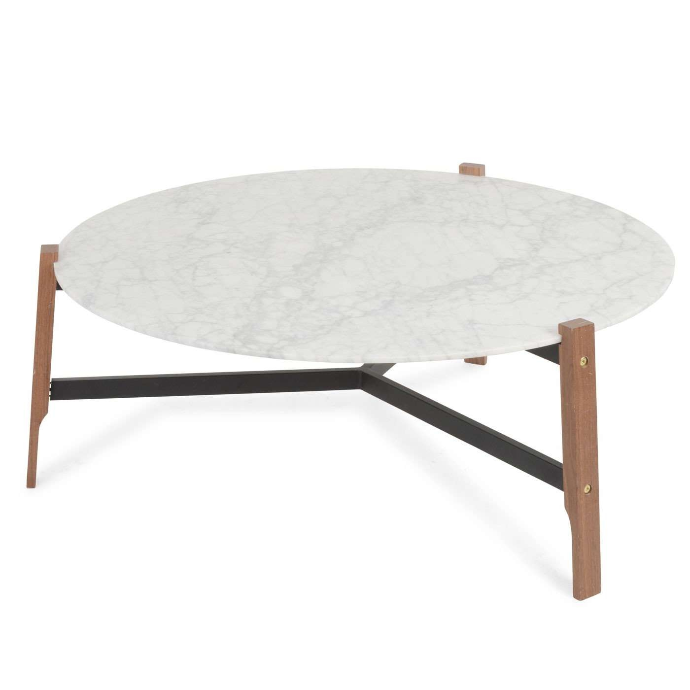 Blu Dot Free Range Coffee Table In Marble Intended For 2018 Marble Round Coffee Tables (View 3 of 20)