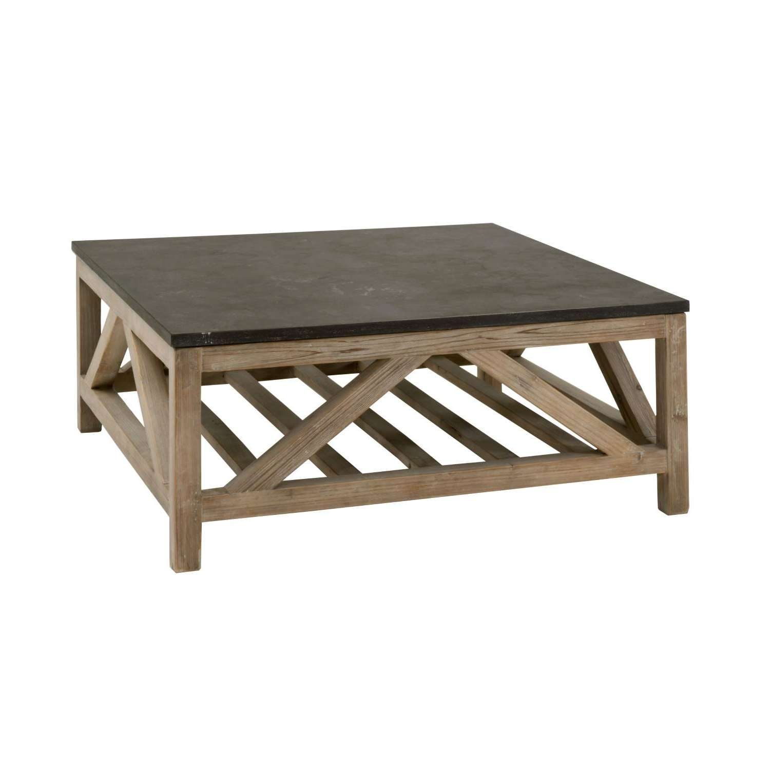 Blue Stone Square Coffee Table With Regard To Favorite Square Stone Coffee Tables (View 2 of 20)