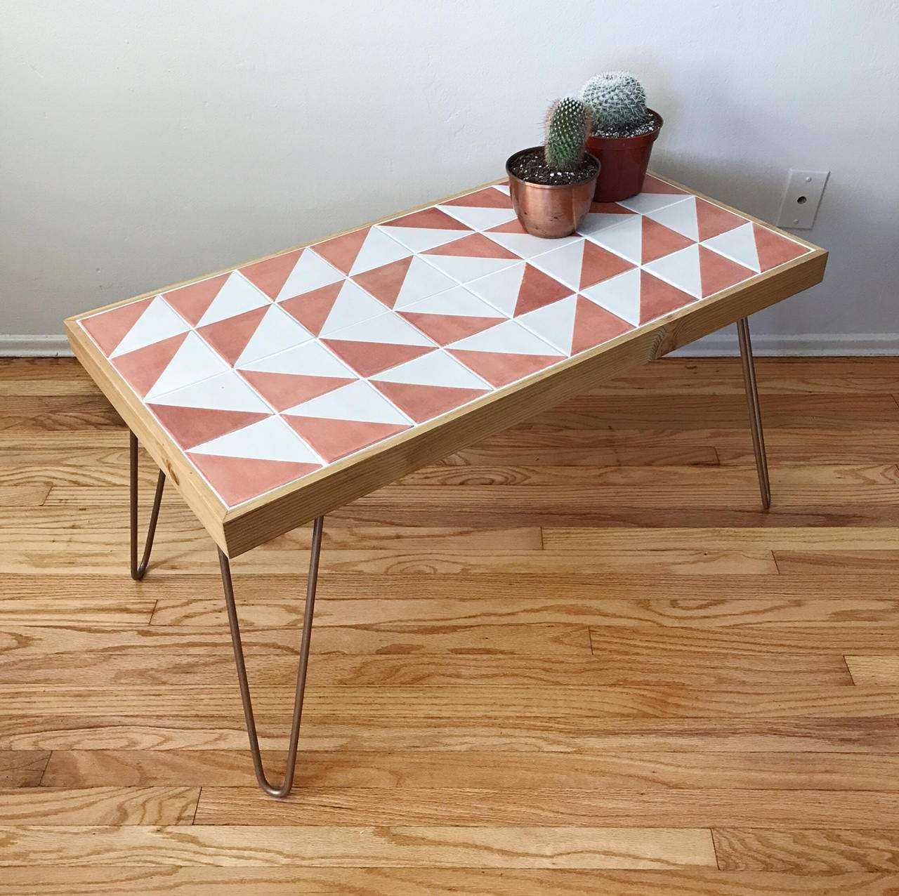 Boho Modern Talavera Coffee Table For Well Liked Boho Coffee Tables (View 9 of 20)