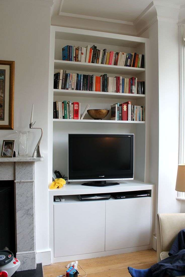 Bookcase Design: Amusing Tv Cabinet And Bookcase Tv Entertainment Inside Tv Cabinets And Bookcase (View 3 of 20)