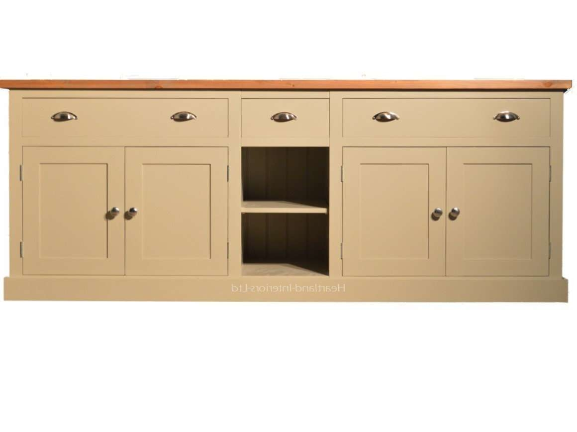 "Bordeaux F&b Painted 7Ft Wide ""extra Deep"" Sideboard With Drawers Inside Extra Deep Sideboards (View 5 of 20)"