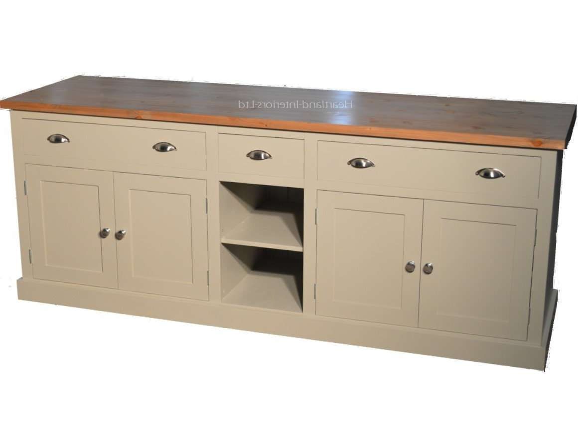 "Bordeaux F&b Painted 7Ft Wide ""extra Deep"" Sideboard With Drawers Inside Extra Deep Sideboards (View 4 of 20)"