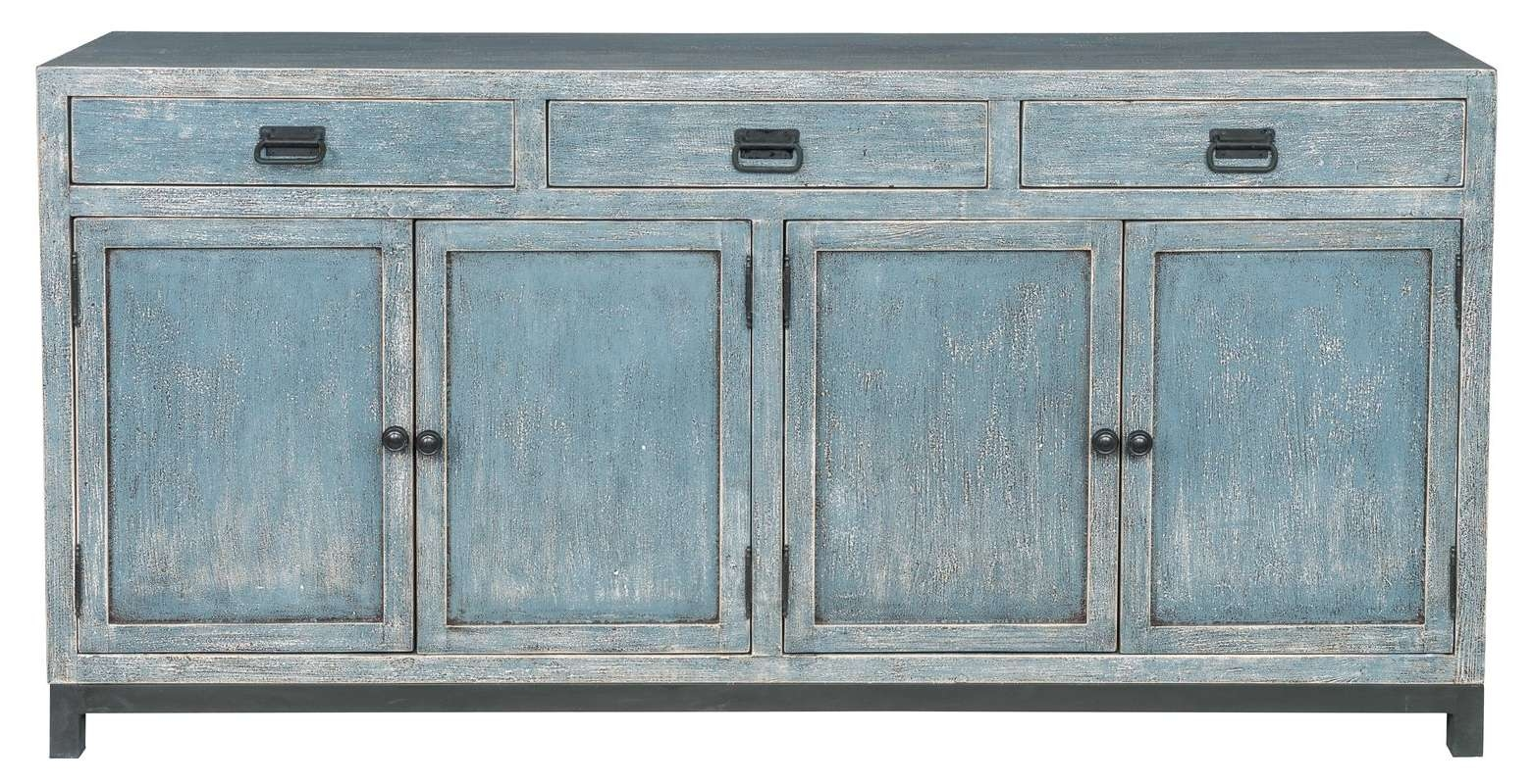 Breakwater Bay Gladeview Sideboard & Reviews | Wayfair In Turquoise Sideboards (View 3 of 20)
