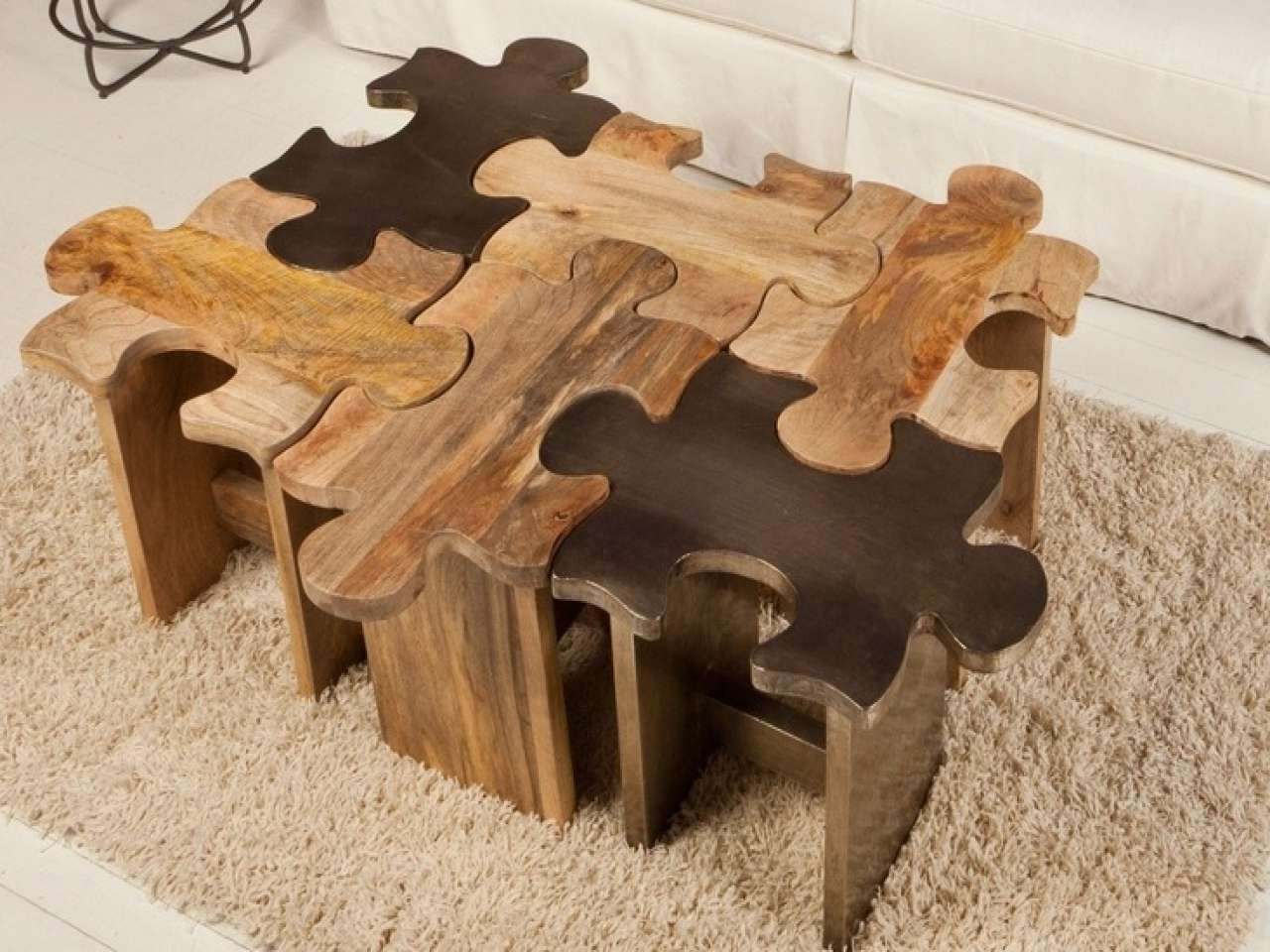 Breathtaking Puzzle Table Pics Decoration Inspiration – Tikspor Within Current Puzzle Coffee Tables (View 5 of 20)