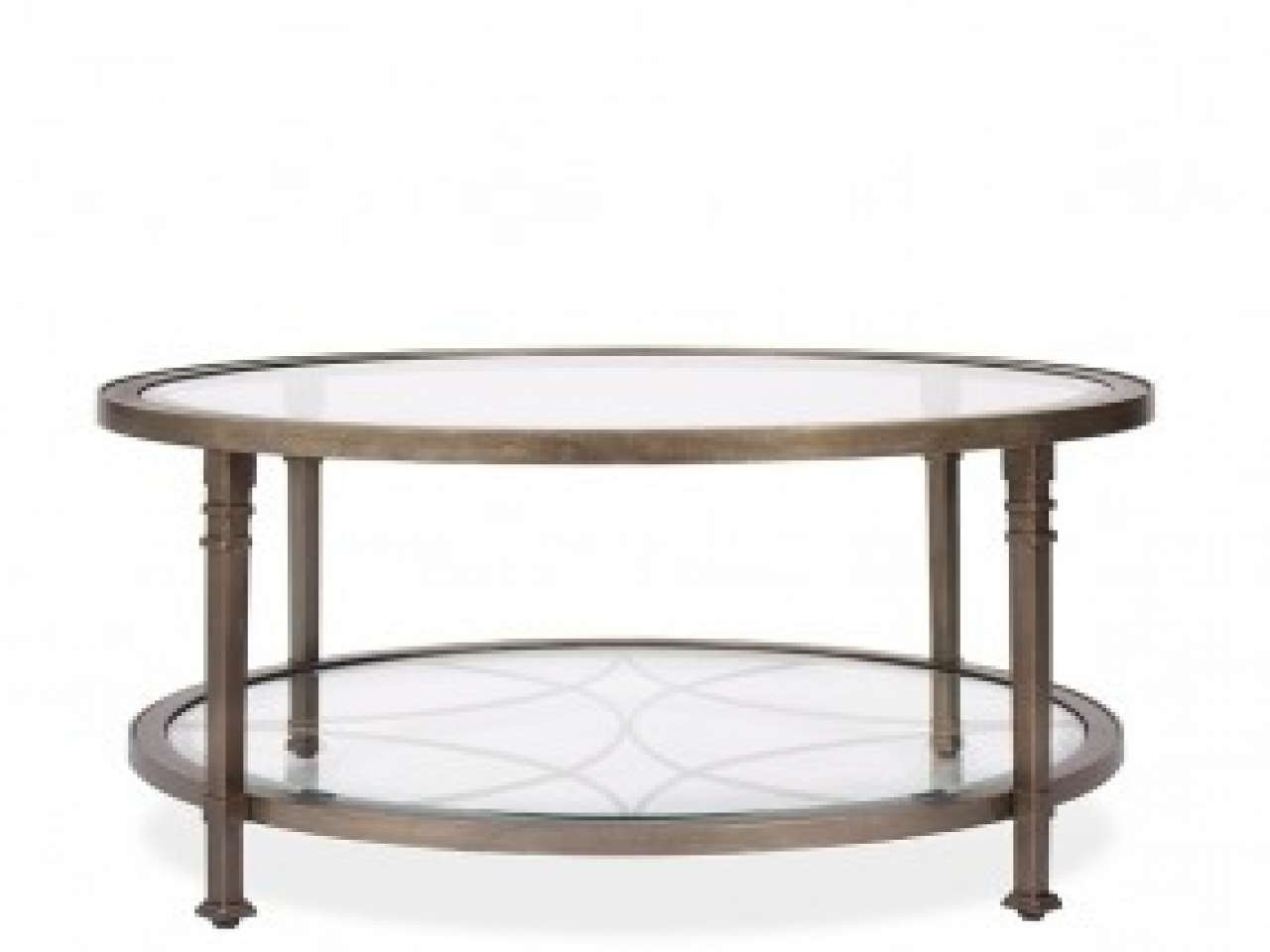 Breathtaking Round Glass End Table Round Beveled Glass Steel In 2017 Metal And Glass Coffee Tables (View 1 of 20)
