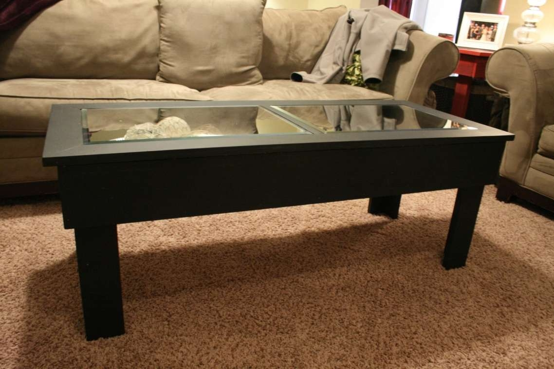 Brilliant Dark Wood Coffee Table With Glass Top Also Interior Home Regarding Most Up To Date Dark Wood Coffee Tables With Glass Top (View 3 of 23)
