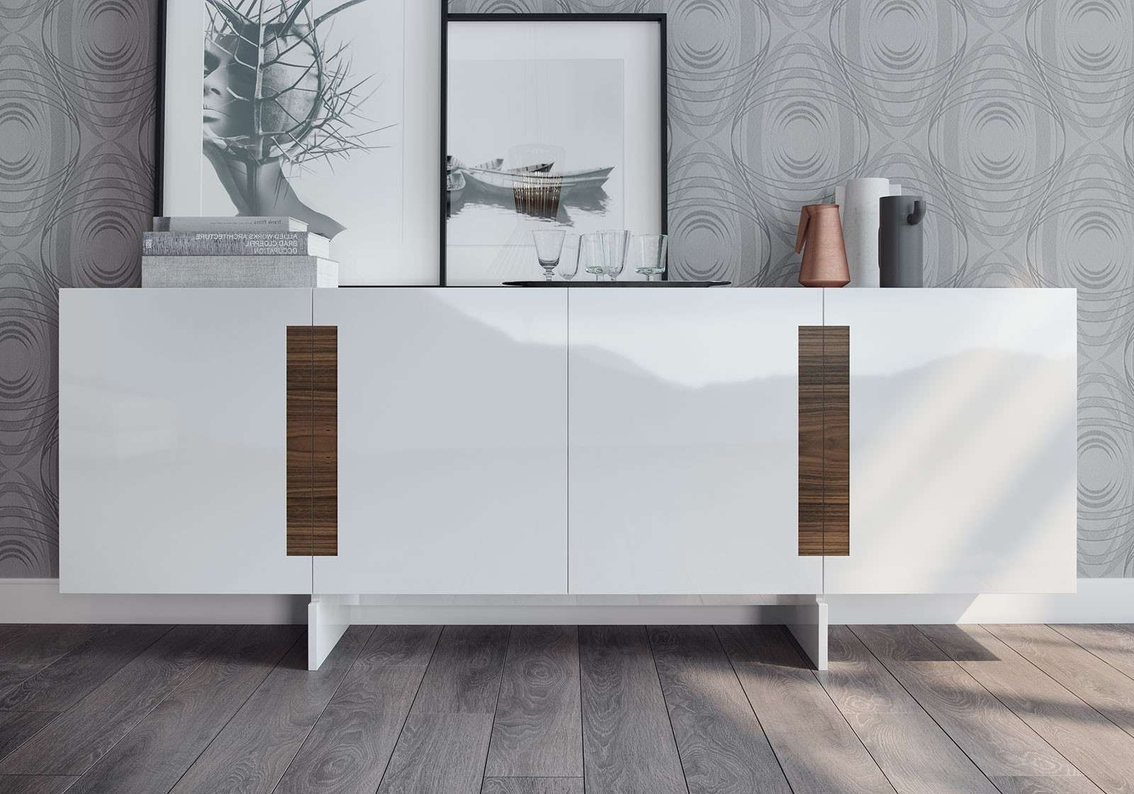 Brixton Sideboardmodloft | Modern Sideboards | Cressina With White Modern Sideboards (View 3 of 20)