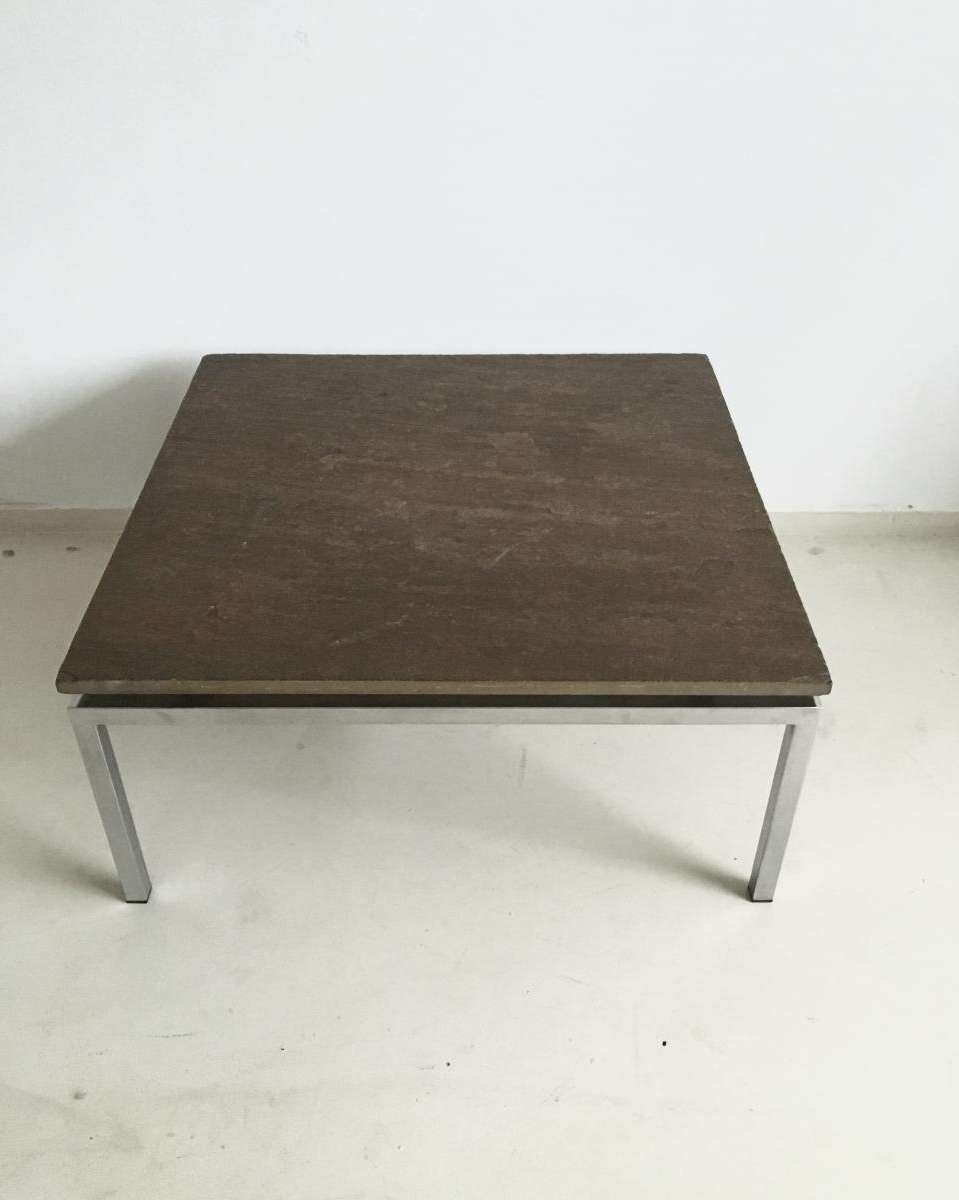 Brutalist Stone Coffee Table, 1960S For Sale At Pamono Within Latest Stone Coffee Table (View 2 of 20)