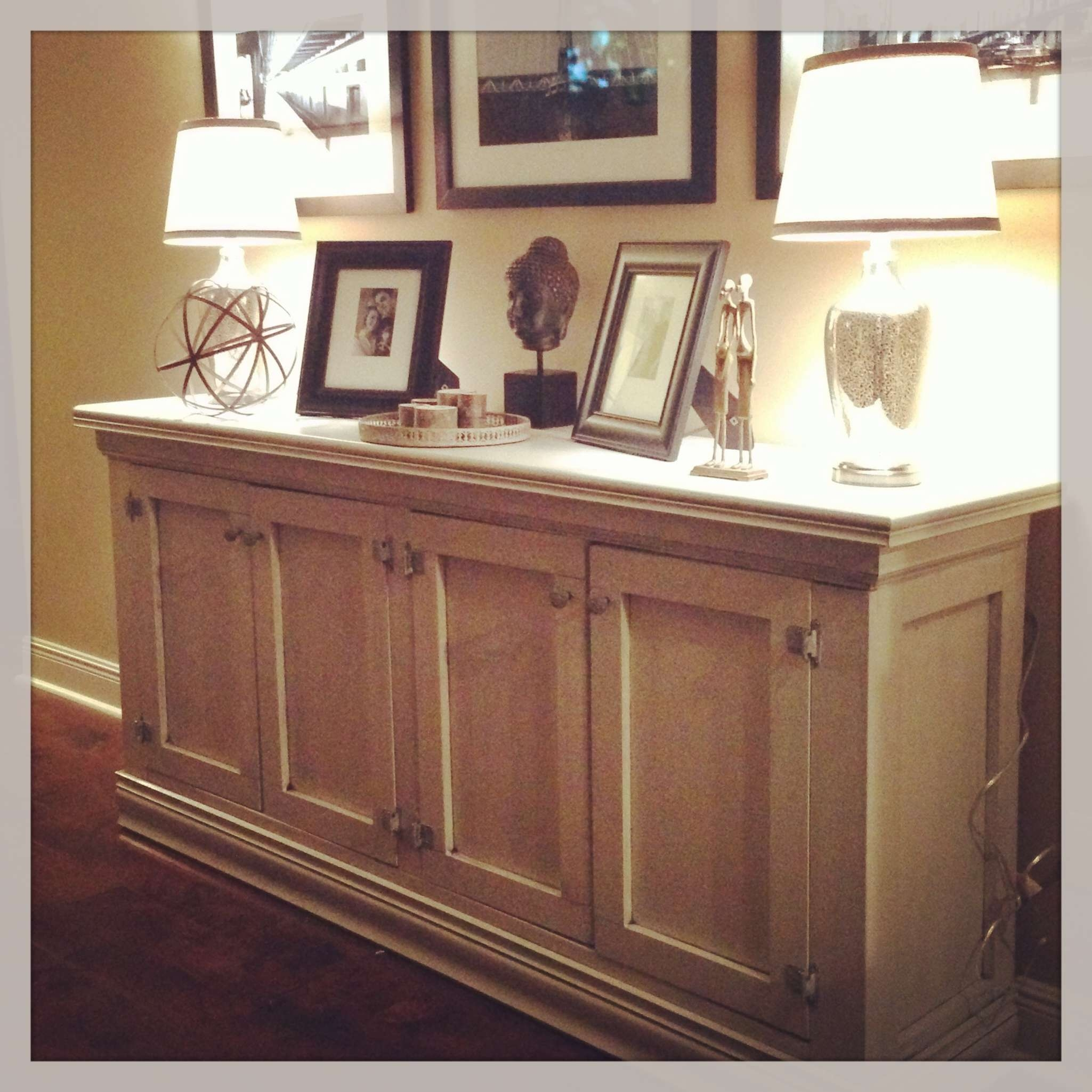 Buffet Or Sideboard Best Of And Diy Sideboard The Sweet Life Within Glass Door Buffet Sideboards (View 9 of 20)