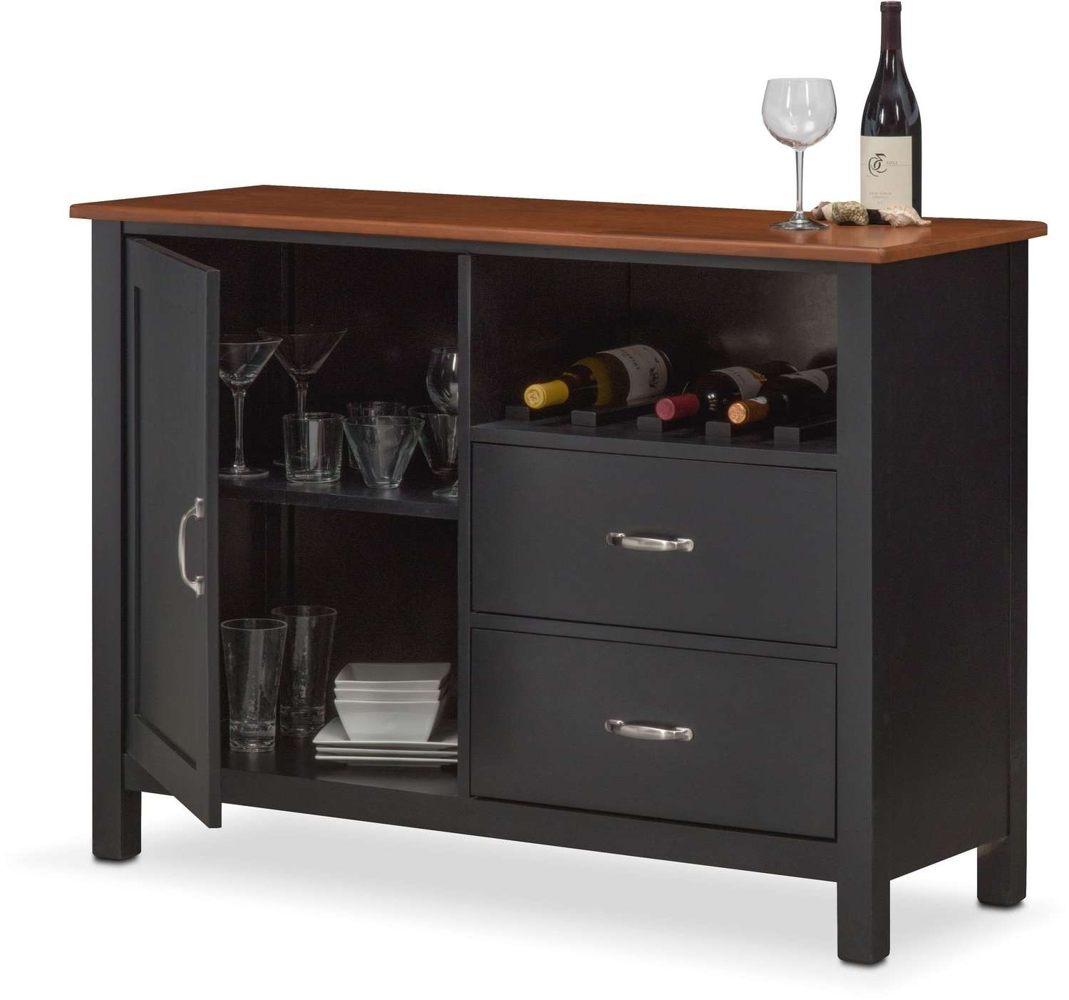 Buffet & Sideboard Cabinets | Value City Furniture And Mattresses With Regard To Furniture Sideboards (View 14 of 20)