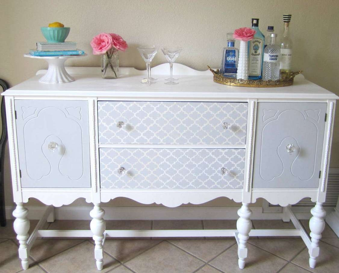Buffet Sideboard | House To Home Blog Pertaining To Painted Sideboards And Buffets (View 19 of 20)