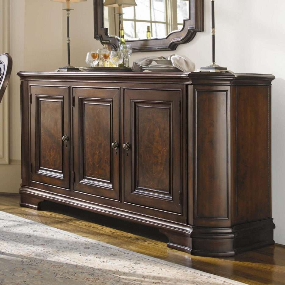 Buffet Table Antique – Home Design Ideas And Pictures Throughout Jacobean Sideboards Buffets (View 17 of 20)