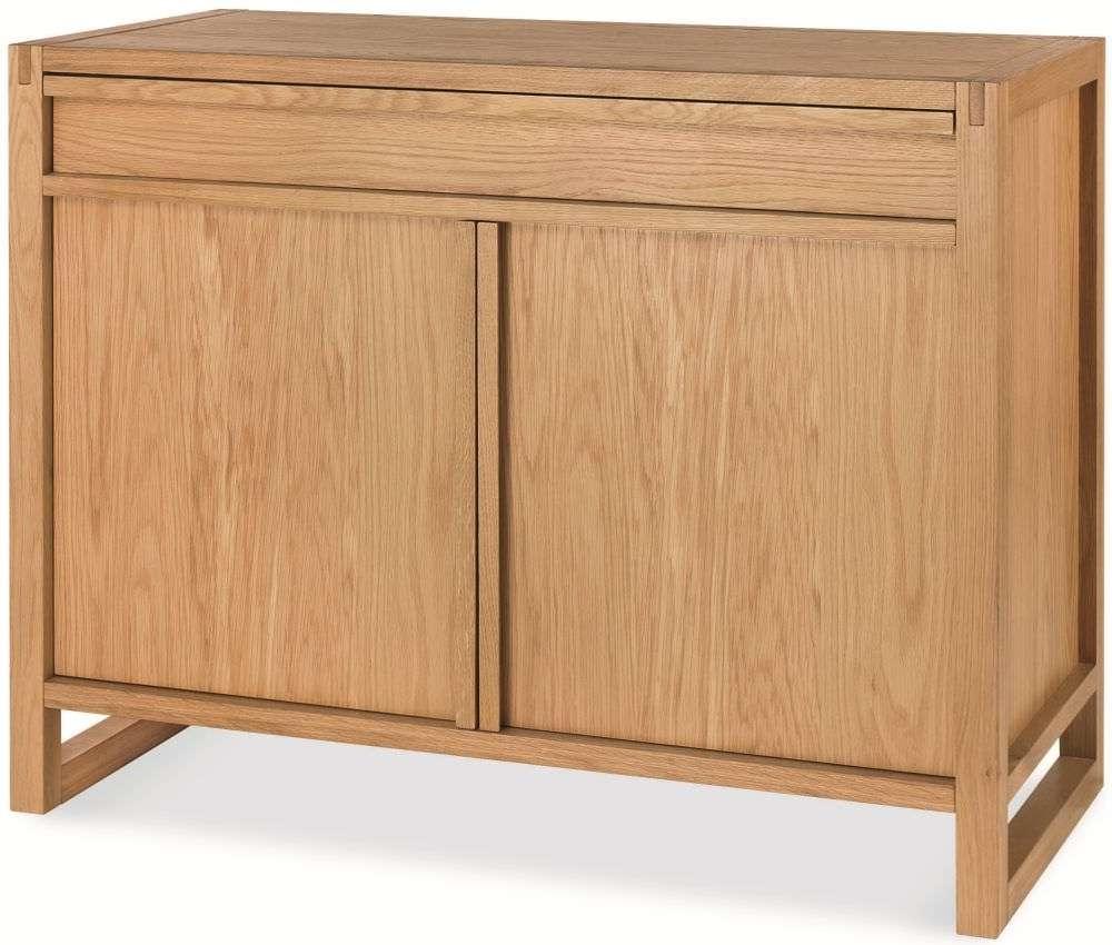 Buy Bentley Designs Studio Oak Sideboard – Narrow Online – Cfs Uk Pertaining To Small Narrow Sideboards (View 4 of 20)