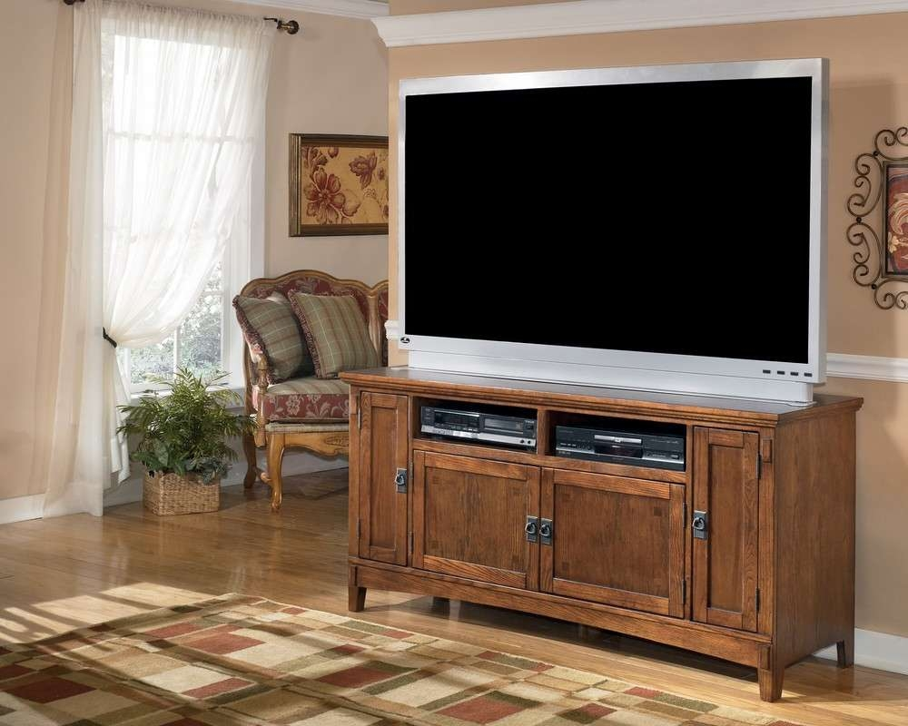 "Buy Cross Island 60"" Large Tv Standmillennium From Www Intended For Large Tv Cabinets (View 4 of 20)"