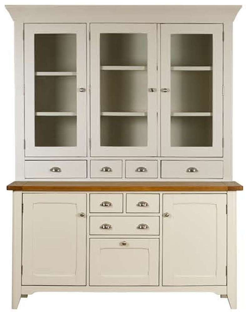 Buy Mark Webster Padstow Painted Sideboard With Glazed Hutch Within Sideboards With Hutch (View 6 of 20)